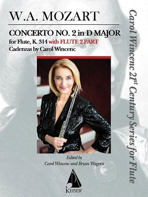 Concerto No. 2 in D Major for Flute, K. 314 - With Flute 2 Part