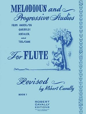 Melodious and Progressive Studies for Flute BK 1