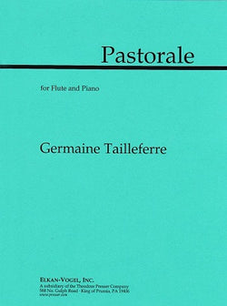 Tailleferre, Germaine  - Pastorale For Flute and Piano