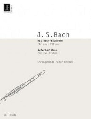 Bach, JS - Selected Works of Bach for 2 flutes (Universal)