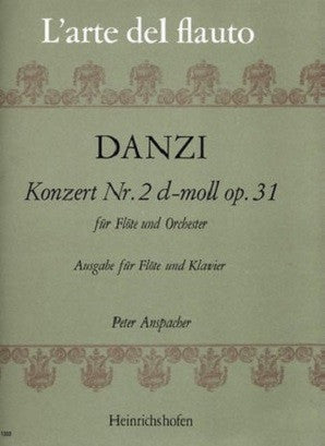 Danzi - Concerto No 2 Op 31 D Minor