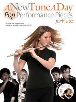 Tune A Day Flute Pop Perf Pieces New Bk/Cd