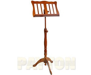 Music Stand - Wooden Tripod Base Walnut