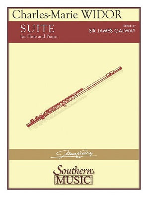 Widor Suite Op. 34 for Flute and Piano (Southern Ed Galway)