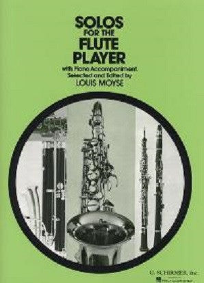 Moyse -Solos for the flute player Fl/Piano (Schrimer)