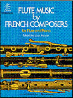 Flute music by French composers ed Moyse Flute/piano (Schrimer)