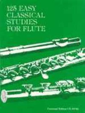 125 Easy Classical Studies for flute (Vester)