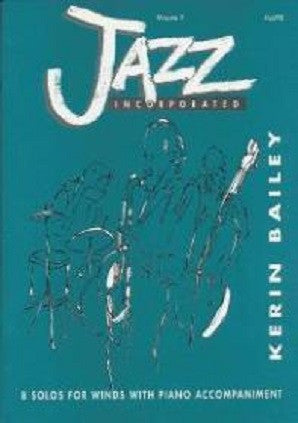 Bailey, Kerin - Jazz Incorporated BK1 Fl/Piano with CD