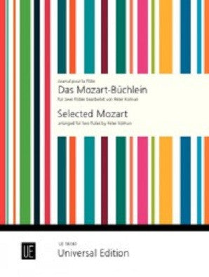 Mozart - The Mozart Notebook for 2 flutes (Universal)