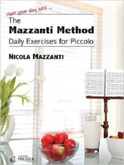 The Mazzanti Method, Daily Exercises for Piccolo