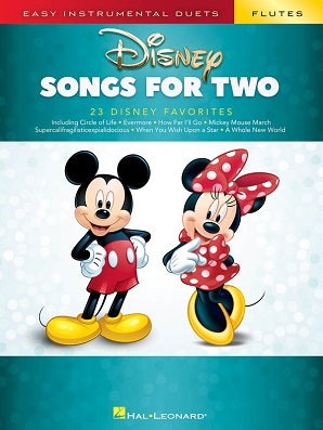 Disney Songs for Two Flutes