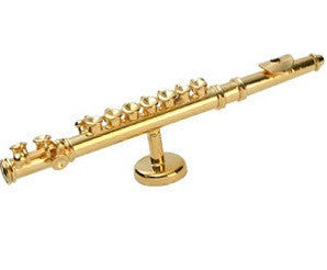 Magnetic Ornament - Golden Flute
