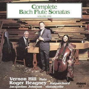 Bach - Complete Sonatas Vol1 - Roger Heagney, Vernon Hill and Jacqueline Johnson