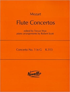 Mozart - Concerto No. 1 G major K 313 for Flute and Piano (Novello Ed Wye)