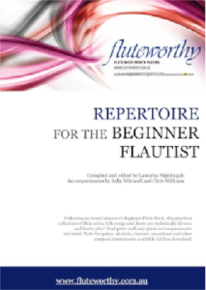 Fluteworthy - Repertoire for the beginner flautist (Book 1)
