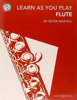 Learn As You Play Flute New Edition with CD