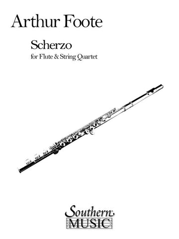Foote - Scherzo for Flute and String Quartet