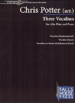 Potter, C - Three Vocalises for alto flute