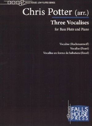Potter, C - Three Vocalises for Bass flute