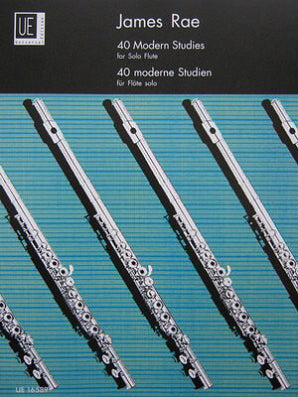Rae, James - 40 Modern studies for solo flute (Universal)