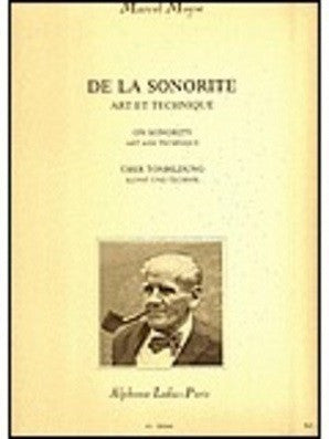 Moyse, M - De La Sonorite Art et Technique On Sonority Art and Technique