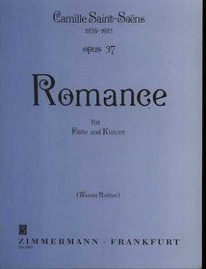 Saint-Saens ,Camille - Romance Op. 37 for Flute and Piano (Zimmermann)