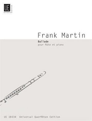 Martin Frank - Ballade for Flute and Piano (Universal Edition)