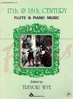17th and 18th Century Flute & Piano Music