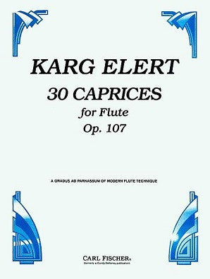 30 Caprices for Flute Op. 107 (Carl Fischer)