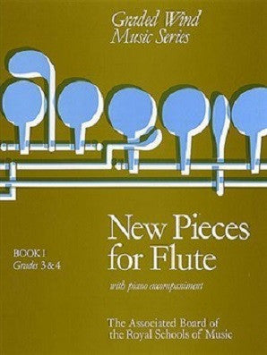New Pieces for Flute, Book I (Grades 3-4)