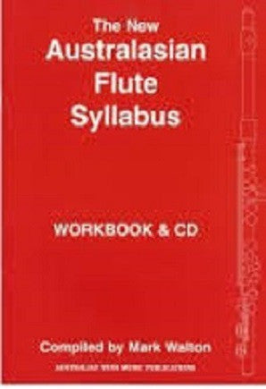 The New Australasian Flute Syllabus Workbook & CD Levels 1 - 4