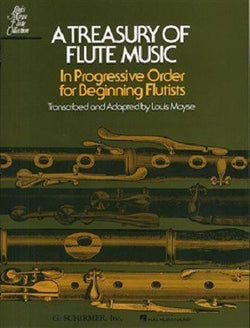A Treasury Of Flute Music In Progressive Order