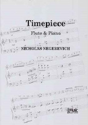 Negerevich - Timepiece Flute & Piano