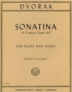 Dvorak -Sonatina in G major Op. 100 for Flute and Piano (IMC)