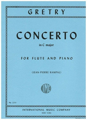 Gretry - Concerto in C major for Flute and Piano (IMC)