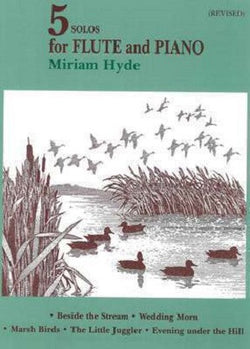 Hyde, Miriam - Five Solos for Flute & Piano EMI