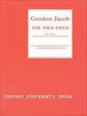 Jacob Gordon, - The Pied Piper (Oxford)