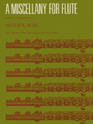 A Miscellany for Flute, Book 1 (11 easy pieces for flute and piano)