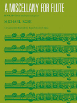 A Miscellany for Flute, Book 2 (11 moderately easy pieces for flute and piano)