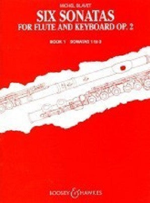 Blavet - 6 Sonatas Op. 2 Nos. 1-3 for Flute and Piano (B&H)