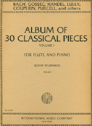 30 Classical Pieces for flute Vol 1