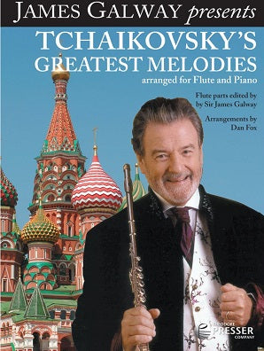 Tchaikovsky's Greatest Melodies Arranged for Flute and Piano