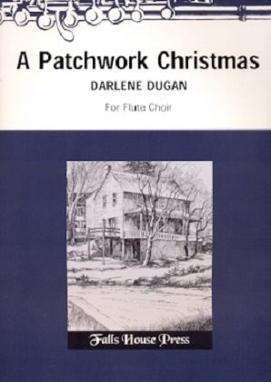 A Patchwork Christmas by Darlene Dugan
