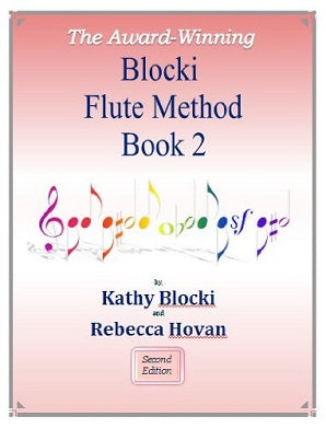 NEW! Blocki Flute Method Student Book 2 Third Edition