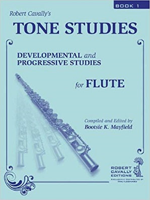 Tone Studies, Book 1: Developmental and Progressive Studies for Flute
