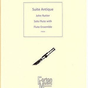 Rutter - Suite Antique Solo Flute/Flute Ensemble