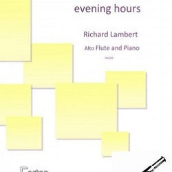 Lambert - In the quiet evening hours Alto Flute and Piano