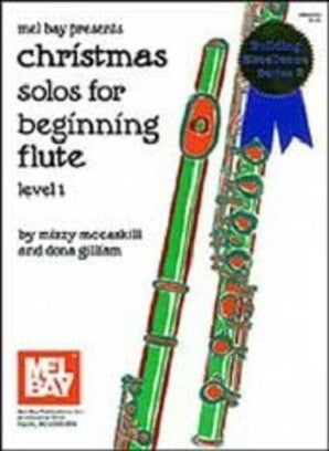 Christmas Solos For Beginning Flute Bk/Cd