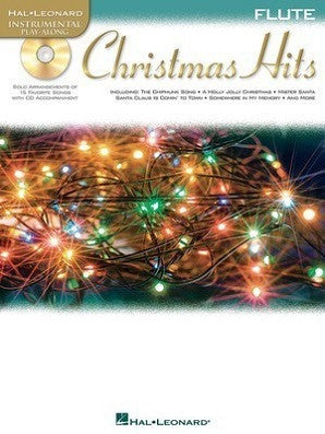 Christmas Hits for Flute Instrumental Play-Along Book/CD Pack