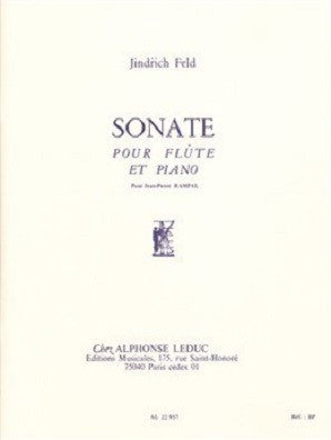 Feld: Sonata for Flute and Piano (leduc)